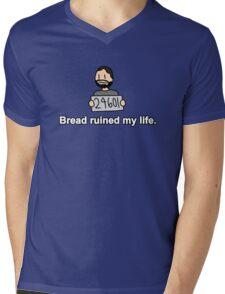 Bread ruined my life. Mens V-Neck T-Shirt