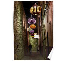 Essaouira at Night Poster