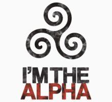 I'M THE ALPHA One Piece - Short Sleeve