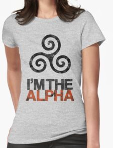 I'M THE ALPHA Womens Fitted T-Shirt