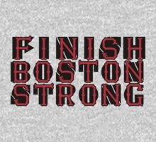 Finish Botston Strong - Artist gets no profit Kids Tee