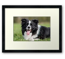 Happy Smile Framed Print