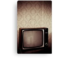 TV Canvas Print