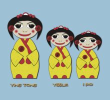 Ying Tong, Yiddle, iPo T-shirt Kids Clothes