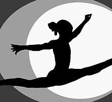 Gymnastics 4 by John Novis