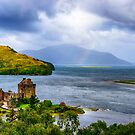Eilean Donan Loch Duich by Chris Thaxter
