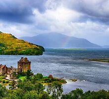 Eilean Donan Loch Duich by Chris Thaxter