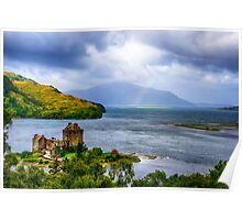 Eilean Donan Loch Duich Poster