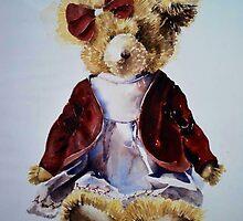 Teddy Bear iPhone & IPod cover by Karl Fletcher