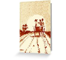 Home Before Dark Greeting Card