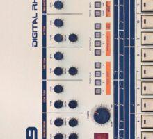 TR-909 Gear Sticker