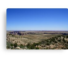 On the way to Grand Canyon National Park,Arizona USA Canvas Print