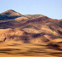 Clouds over Mojave Desert by Eva Kato