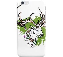 Inky Stag iPhone Case/Skin