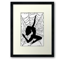 Silhouettes 6 Framed Print