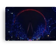 The eye that lights the city. Canvas Print