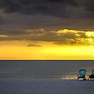 Two Chairs for a Sunset View by Mikell Herrick