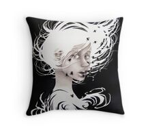 In the House of Flies Throw Pillow