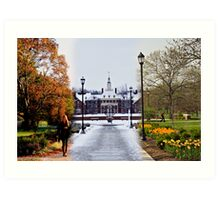 The Most Beautiful Campus That Ever Was Art Print