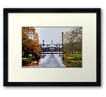 The Most Beautiful Campus That Ever Was Framed Print