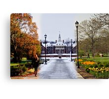 The Most Beautiful Campus That Ever Was Canvas Print
