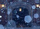 Snowfall at Upham by CGreene85