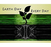 Earth Day Photographic Print