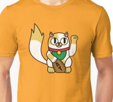 Cake the (Beckoning) Cat Unisex T-Shirt