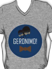 Doctor Who Geronimo Badge T-Shirt