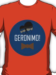 Doctor Who Geronimo Badge T-Shirt