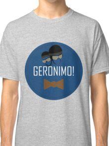 Doctor Who Geronimo Badge Classic T-Shirt