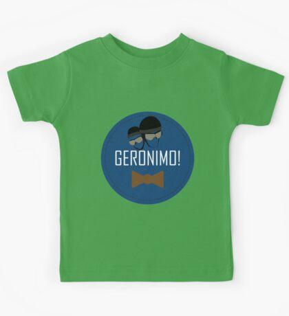 Doctor Who Geronimo Badge Kids Tee