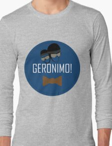 Doctor Who Geronimo Badge Long Sleeve T-Shirt