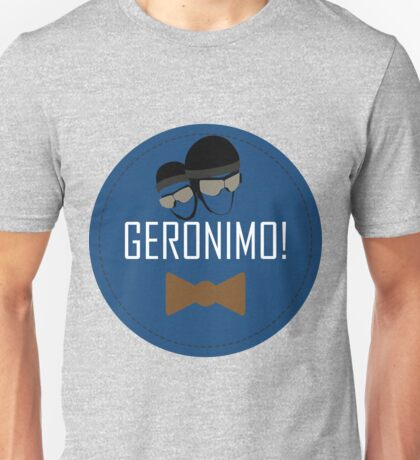 Doctor Who Geronimo Badge Unisex T-Shirt