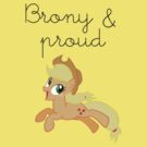 Brony & Proud- Applejack by FUNeral