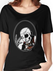 All Eyez On Me 2Pac Legend Iconic Skull Women's Relaxed Fit T-Shirt
