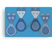 Nice Mice Canvas Print