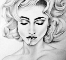 Madonna Bad Girl by Squips