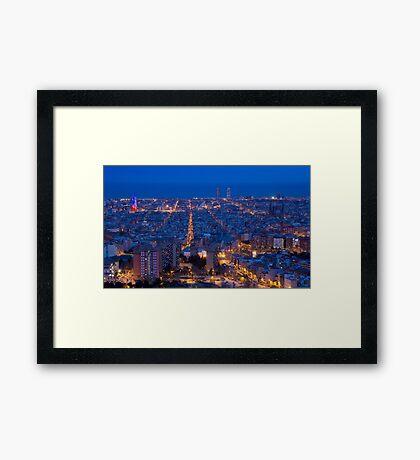 Blue Hour Framed Print