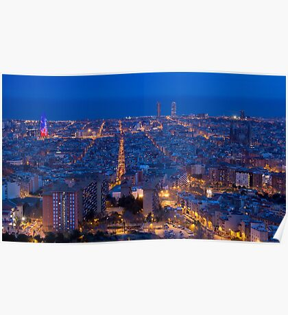 Blue Hour Poster