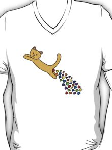 Thinking of you Rainbow + Greeting Card T-Shirt