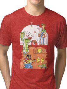 Down the Pipes Again Tri-blend T-Shirt