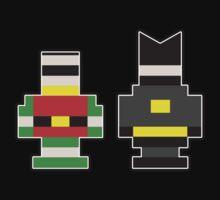 Batman & Robin... Brick Form! Kids Clothes