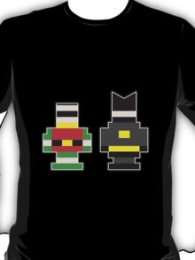 Batman & Robin... Brick Form! T-Shirt