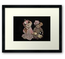Country Gals Framed Print