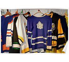 Hockey Team Sweaters Poster