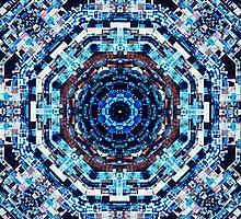 Glitch Kaleidoscope #4 by delahey