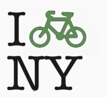 I love (biking) new york by wanungara