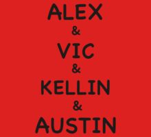 Alex & Vic & Kellin & Austin by Alexandra Russo