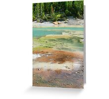 Rainbow Colors of Yellowstone Greeting Card